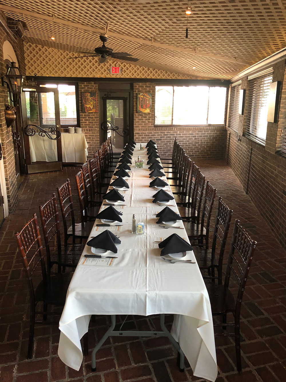 Long table special event
