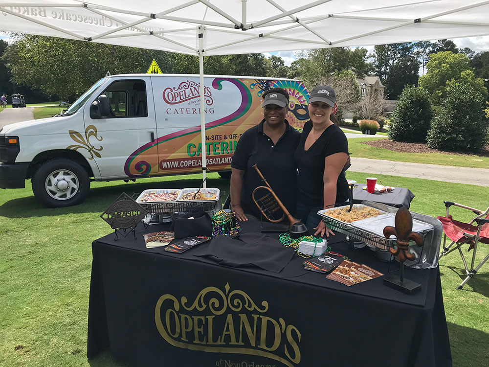 golf catering tent
